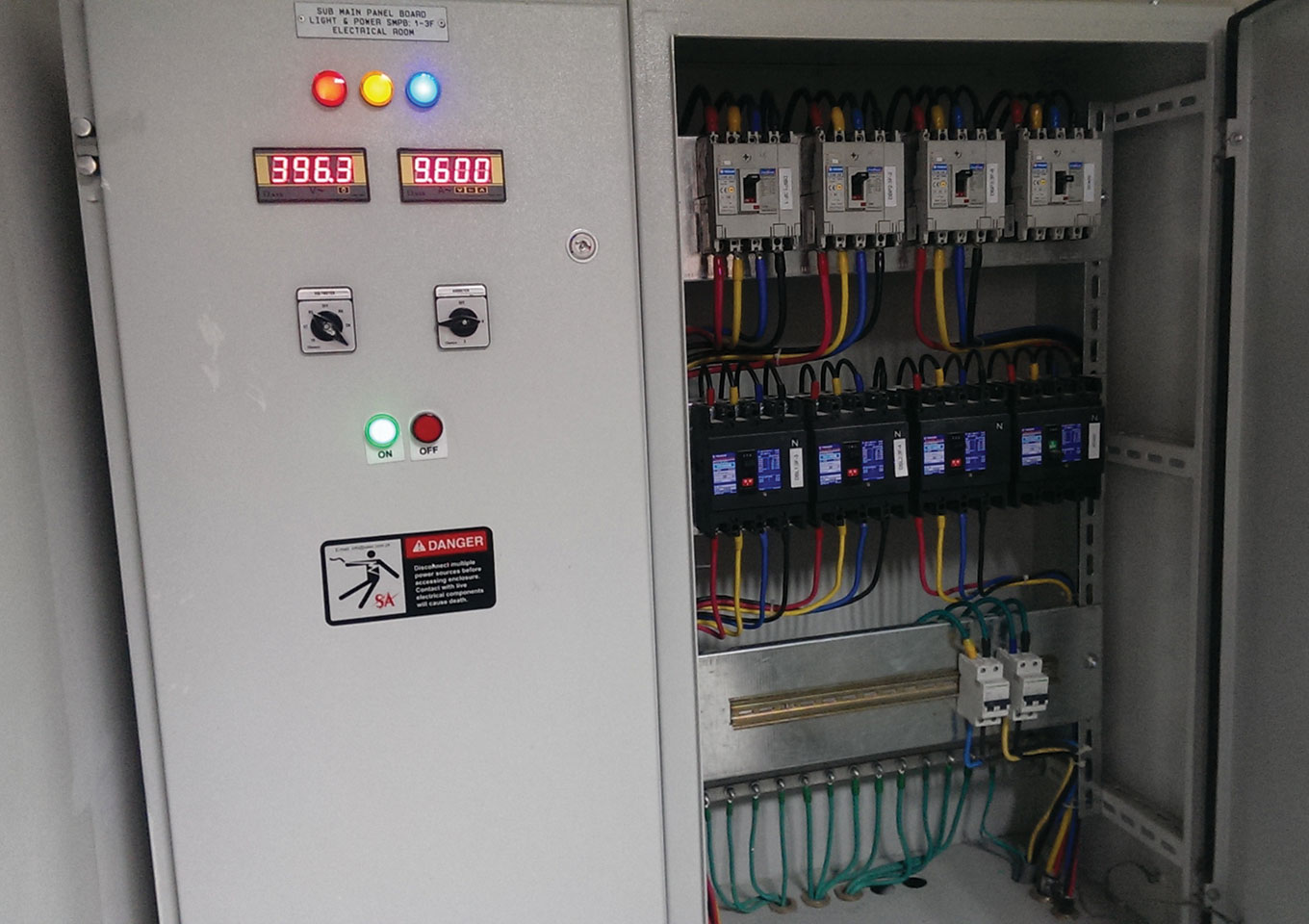 Lighting Power Sockets Distribution Panels Box Electrical Panel Buy Circuit Breaker All Type Of Including The Required Cabling Works Conduits Cable Tray And
